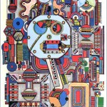 Alan Turing - Enigma (Paolozzi)