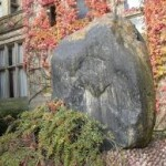 University - stone block
