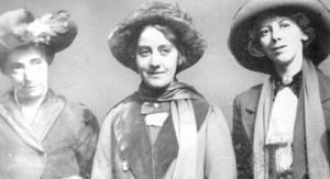 Annie Briggs, Lillian Forrester & Evelyn Manesta