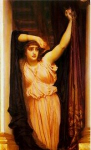 """The Last Watch of Hero"", Lord Leighton, 1887"