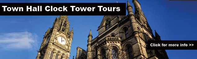 manchester town hall clock tower tours