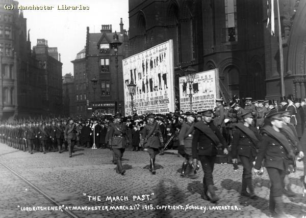 Great War - Manchester Regiment March Past 1915 March 21