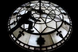Town Hall clock tower - clock face