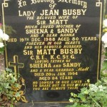 Southern Cemetery - Matt Busby Grave